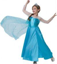 53c123b0f37362 Strój Księżniczka Lodu Frozen 116 Kostium Sukienka