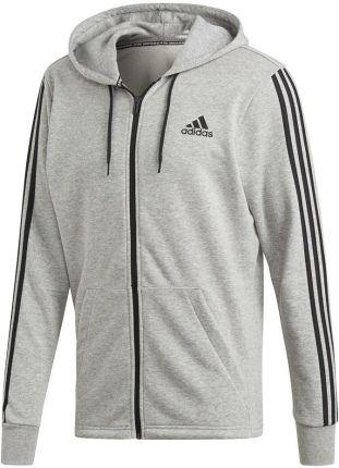 666ba082d Bluza męska 3 Stripes Full Zip Adidas (szara)