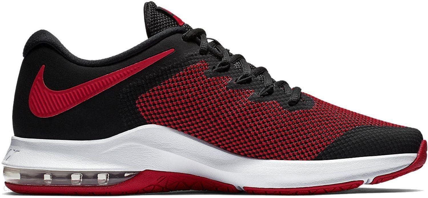 buy popular b2421 51e34 Buty Air Max Alpha Trainer Nike (czarno-czerwone) - zdjęcie 1