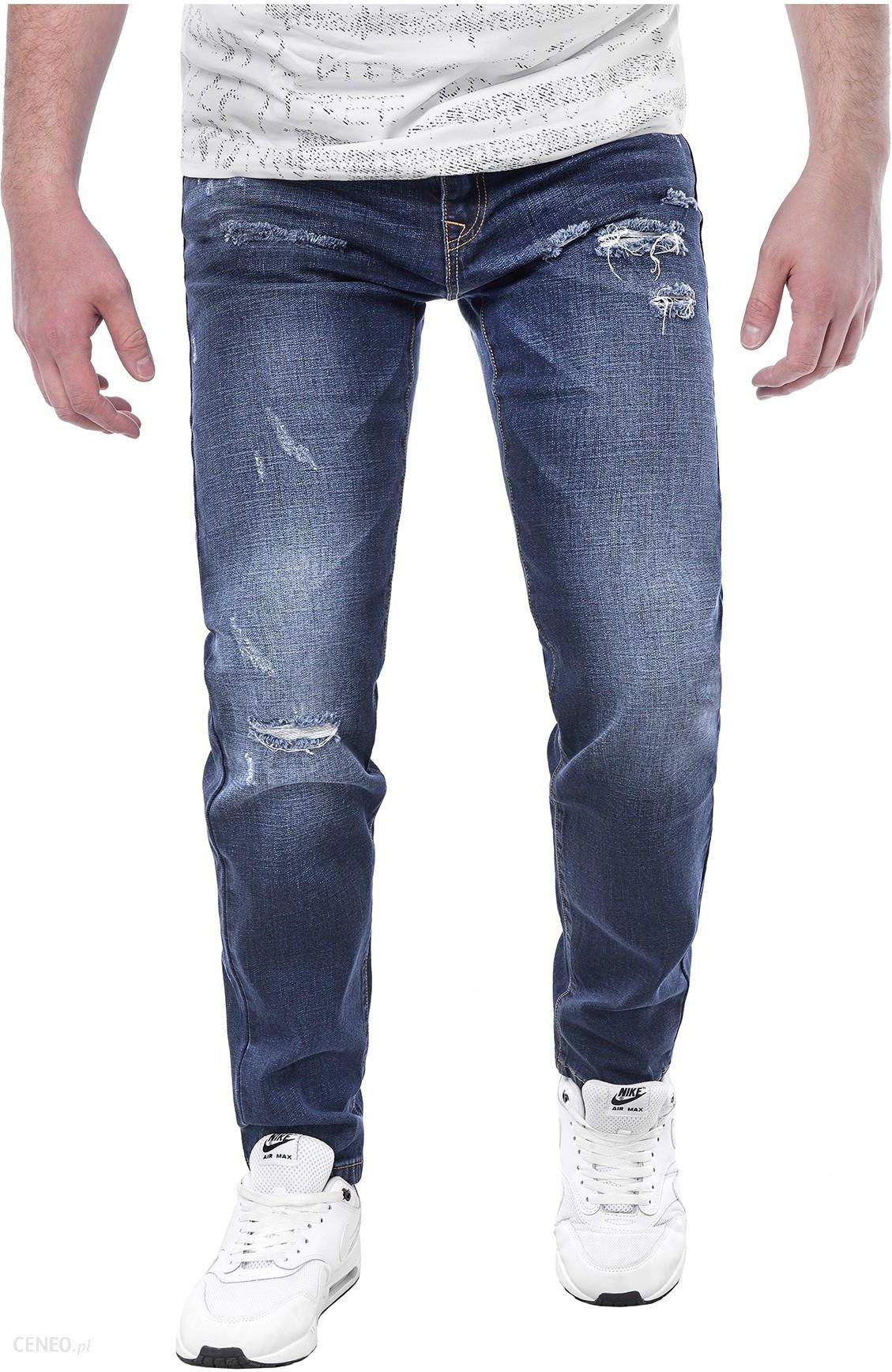 Spodnie męskie jeansowe KL6622