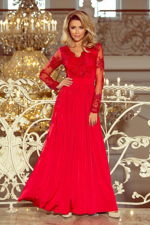 c7245966f6 NUMOCO Sukienka Model Arati 213-3 Red - Ceny i opinie - Ceneo.pl