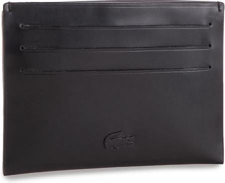 77b12affac4a6 Etui na karty kredytowe LACOSTE - Credit Card Holder NH1616WT Black 000  eobuwie