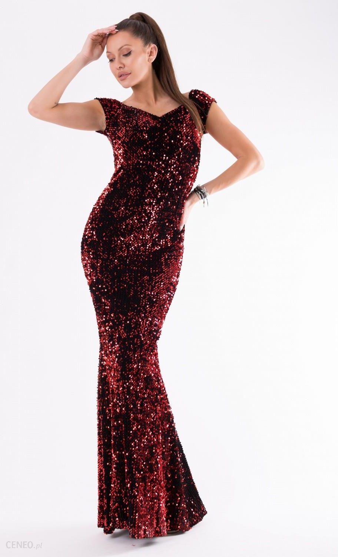 a6968d0fe31654 YourNewStyle Sukienka Model 18145 Red - Ceny i opinie - Ceneo.pl
