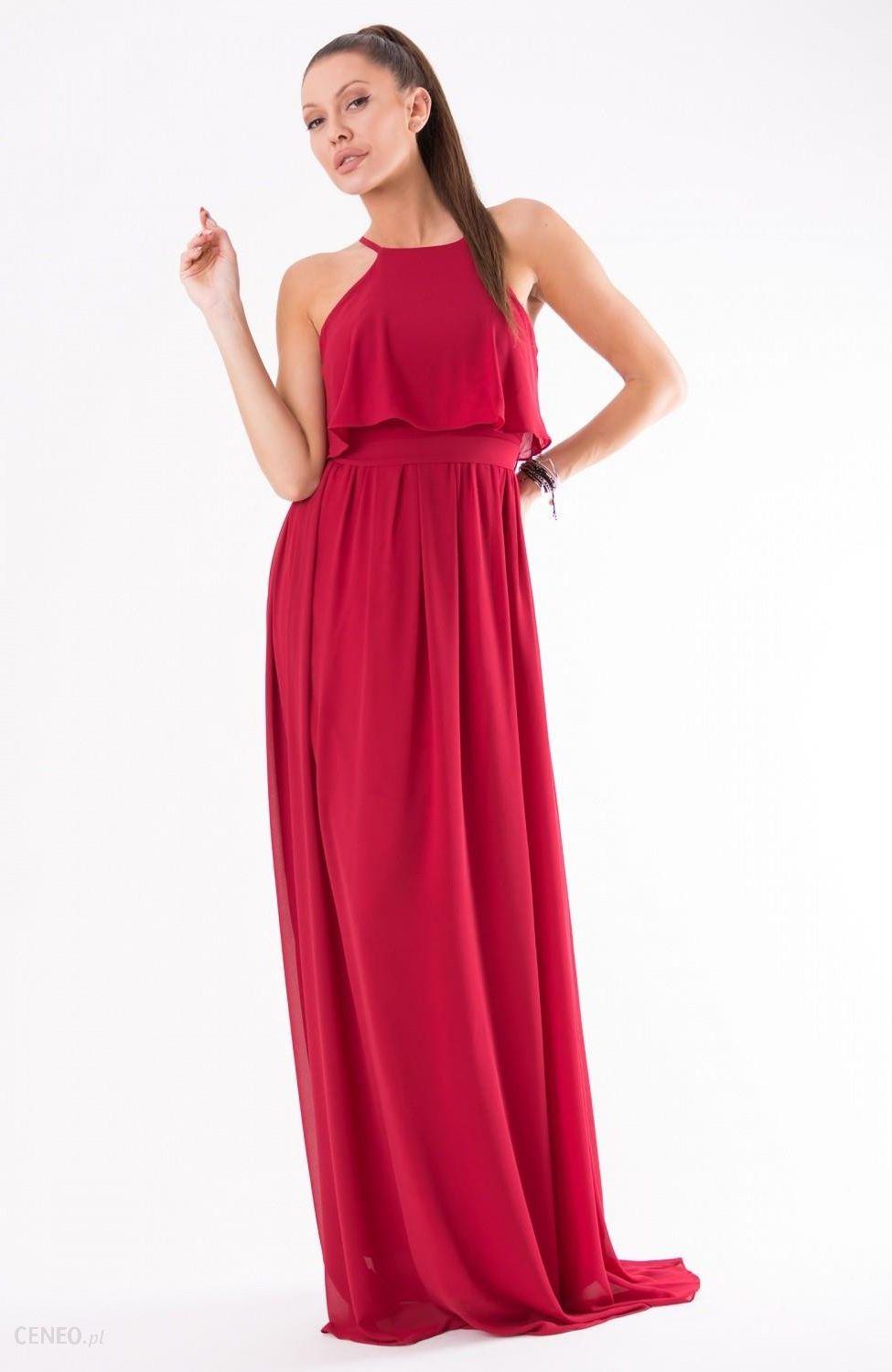 29fef40ae2 YourNewStyle Sukienka Model 18150 Red - Ceny i opinie - Ceneo.pl