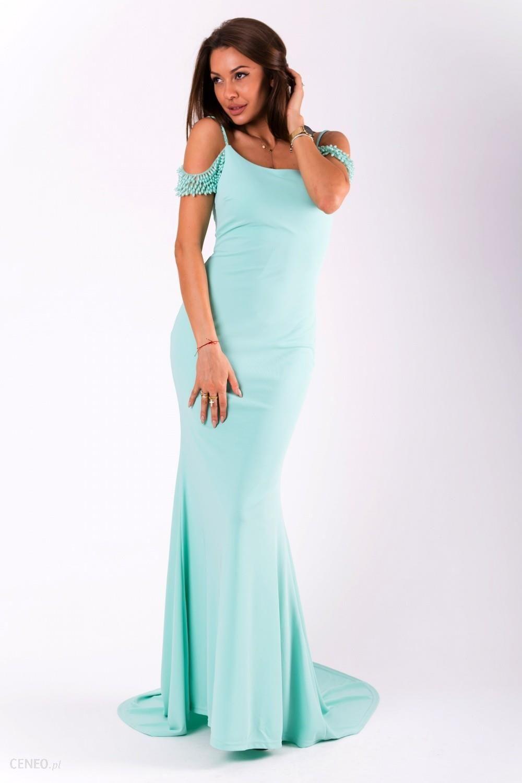 3887d6616289b2 YourNewStyle Sukienka Model 18053 Green - Ceny i opinie - Ceneo.pl