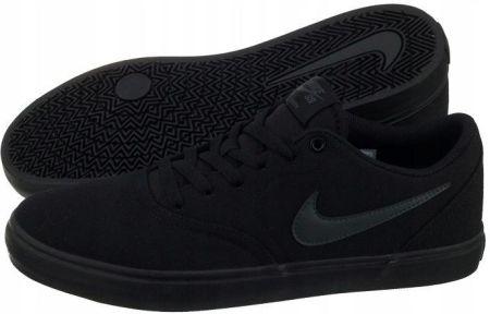 buy online 2bc2c 9a5f4 Buty Męskie Nike SB Check Solar Cnvs 843896 Czarne Allegro