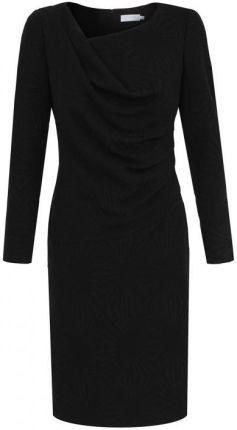 e3c372434b EyeForFashion Czarna sukienka z połyskiem Potis   Verso NEON