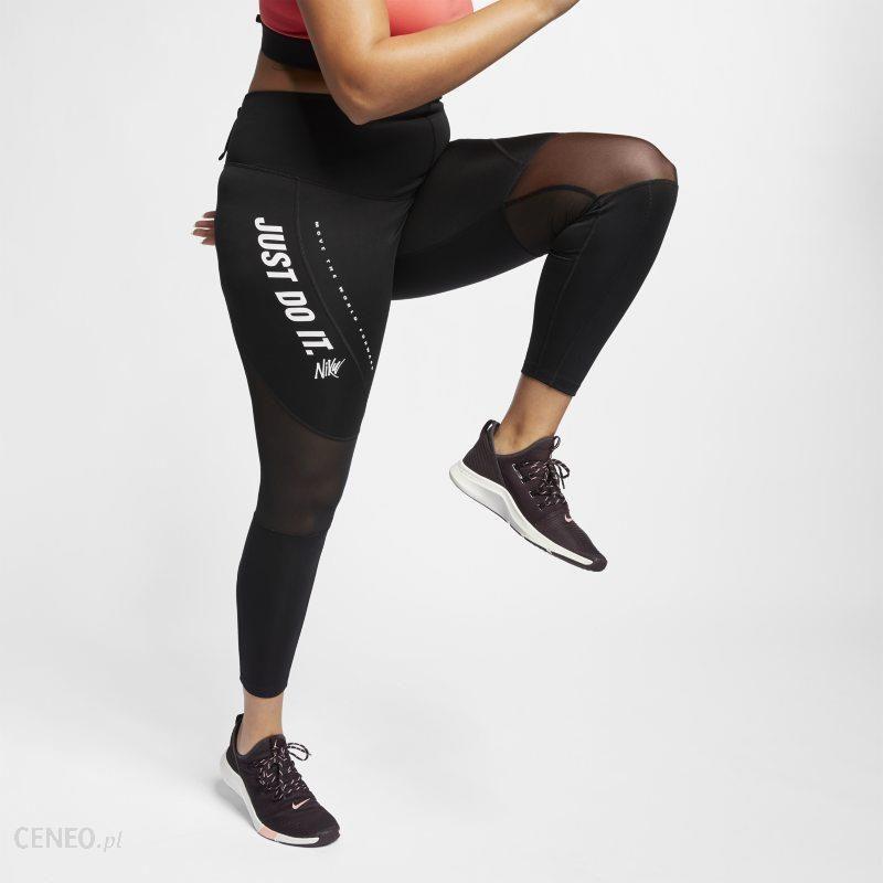 sprzedaż hurtowa gorąca wyprzedaż sprzedawca hurtowy Damskie legginsy treningowe Nike (duże rozmiary) - Czerń - Ceny i opinie -  Ceneo.pl