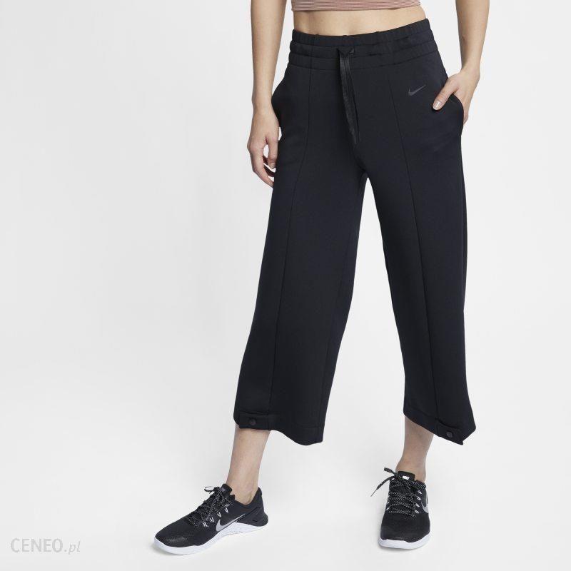fef3ef23cce183 Damskie spodnie treningowe Nike Dri-FIT - Czerń - Ceny i opinie ...