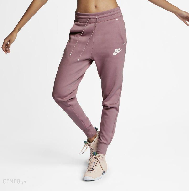 Joggery damskie Nike Air Fiolet Ceny i opinie Ceneo.pl