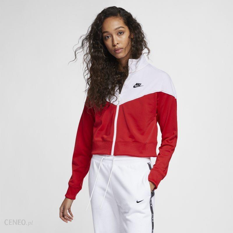 2d640023f Damska bluza dresowa Nike Sportswear Heritage - Czerwony - Ceny i ...