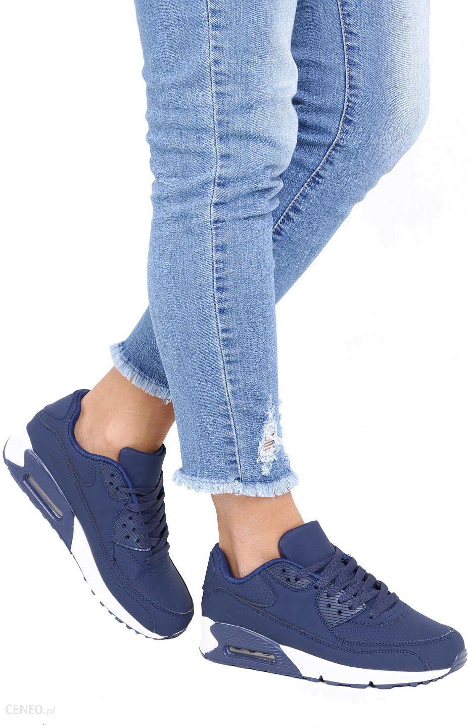 c5e464f7 Granatowe buty sportowe sznurowane Casu D718-3 - Ceny i opinie ...