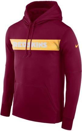 35a0c18f2 Męska bluza z kapturem Nike Dri-FIT Therma (NFL Redskins) - Czerwony ...