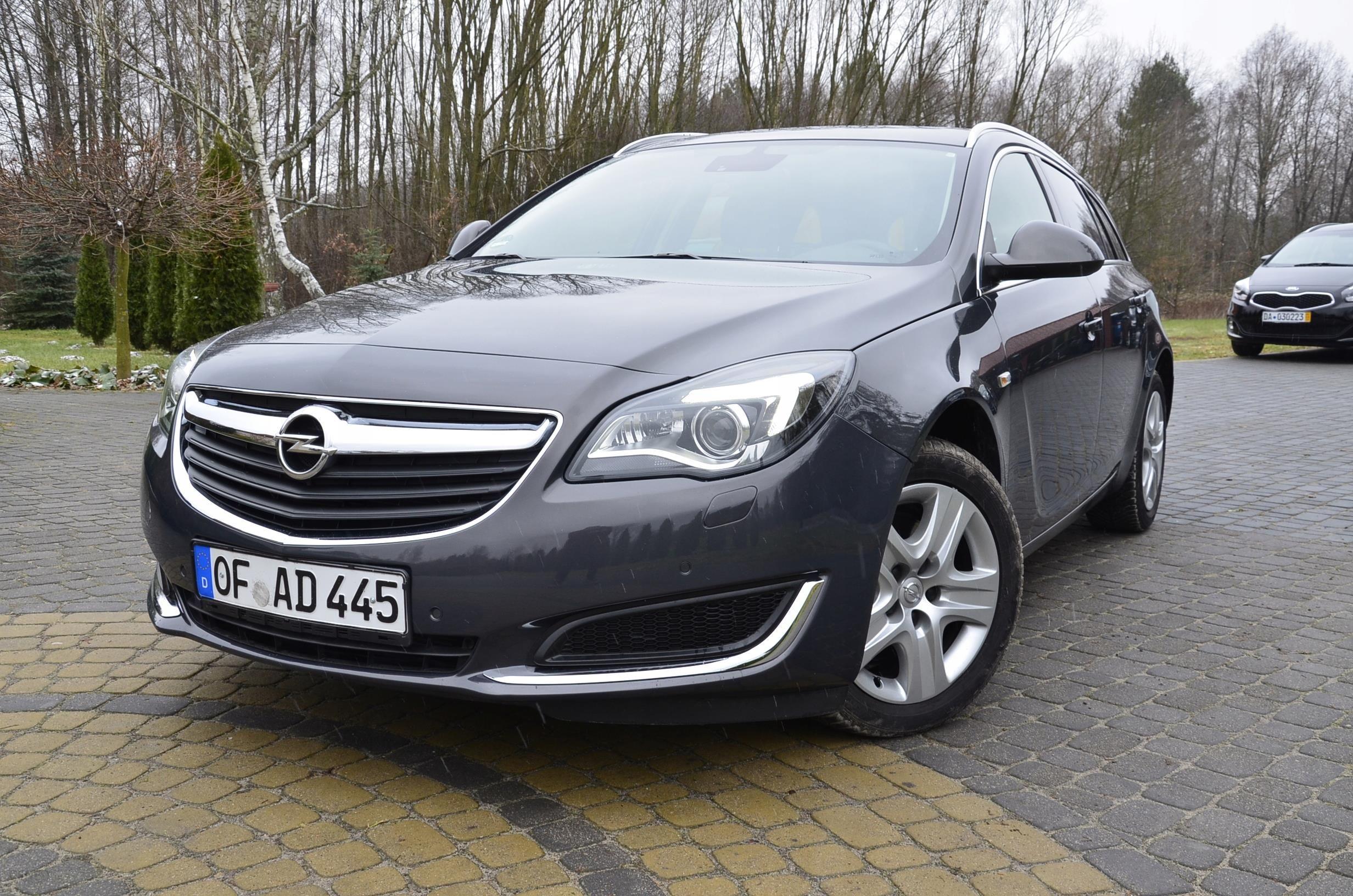 Opel Insignia 2 0 Cdti Lift 163km Automat Led Navi Opinie I Ceny Na Ceneo Pl