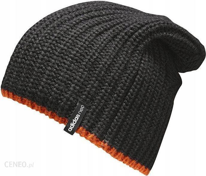new style 08dfe c643b Adidas Czapka męska Neo Slouchy Beanie czarna r. u - zdjęcie 1