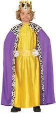 3e7c26bb12806e Gu Kostium Król Fioletowo-Złoty Dla Chłopca 3-4 Lata