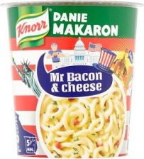 Knorr Mr Bacon & Cheese Danie Makaron 71 G