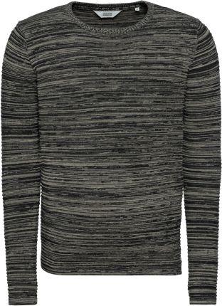 049e488e8760 Sweter męskiSweter męski w kolorze grafitowym z kołnierzykiem 14-5317 -  GRAFITOWY 79
