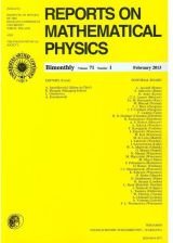 Pwn Reports On Mathematical Physics 80/3 2017 Pergamon - zdjęcie 1