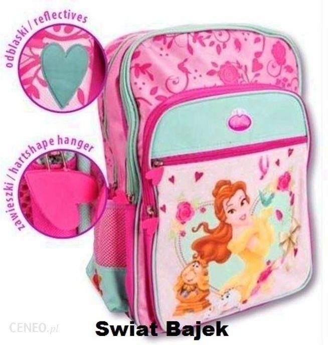 98b7e241761b5 Świat Bajek Disney Princess Księżniczki Plecak Szkolny + Wore 2136 -  zdjęcie 1