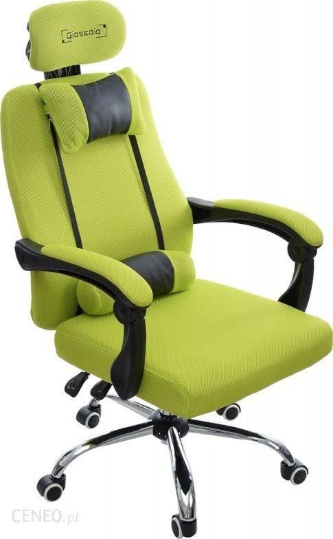 Giosedio Materiałowy Gamingowy Fotel Obrotowy Gpx014 Limonkowy