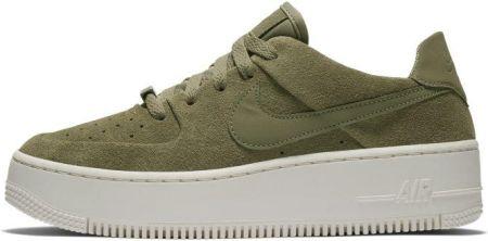 detailed look 78371 56222 9bfe76a31855 Buty damskie Nike Air Force 1 Sage Low - Oliwkowy - Ceny i  opinie .