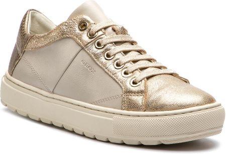 04bef47d5607 Sneakersy GEOX - D Breeda D D822QD 0BCKY C1240 Off White Gold eobuwie