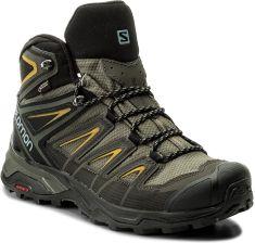 Buty trekkingowe Salomon X Ultra 3 Mid Gtx Gore Tex 401337 28 W0 Castor Gray Green Sulphur Ceny i opinie Ceneo.pl