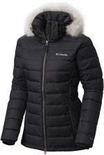 Columbia Zimowa Damska Ponderay Jacket Black