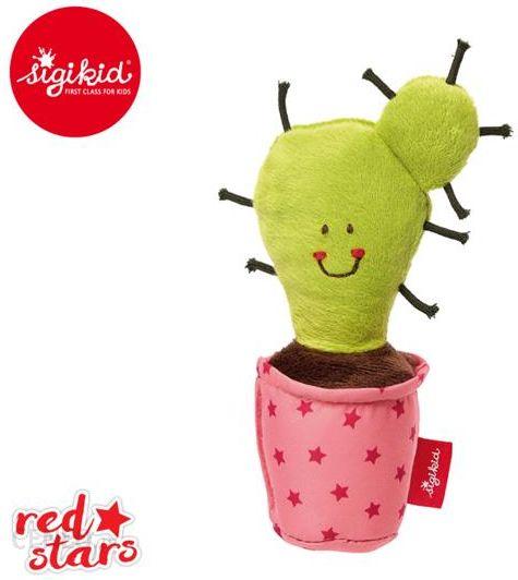 Sigikid Miekka Mini Grzechotka Kaktus W Rozowej Doniczce 21398