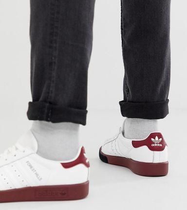 new arrivals 619a8 35d37 adidas Originals forest hills unisex trainers - White