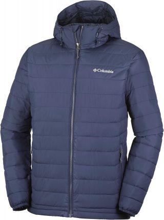 b3a53213ce98d5 COLUMBIA kurtka męska Powder Lite Hooded Jacket Collegiate Navy XL,