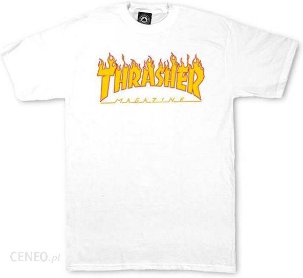 67accefd06ce Koszulka THRASHER - T-Shirts Flame Ss Thrasher (W) - Ceny i opinie ...