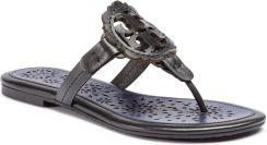 0f25d50d2 Japonki TORY BURCH - Miller Scallop Sandal 52934 Perfect Black Navy Sea 015  eobuwie