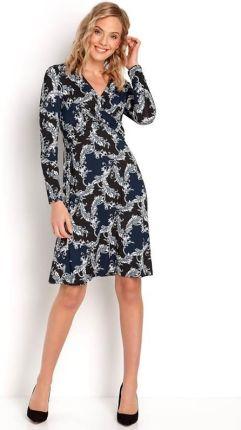 3d90076a13 Happy Holly Sukienka Marlene dress - ciemnoniebieski we wzory cellbes