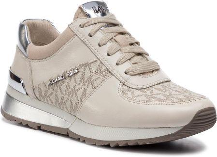 5f3c3fe8d2d9c Sneakersy MICHAEL MICHAEL KORS - Allie Wrap 43R6ALFP2B Vanilla eobuwie