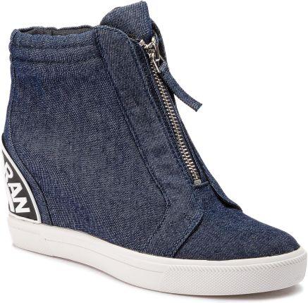 39303bbc Sneakersy TOMMY HILFIGER - DENIM Nice Wedge 5Z2 FW0FW01772 Black 990 ...