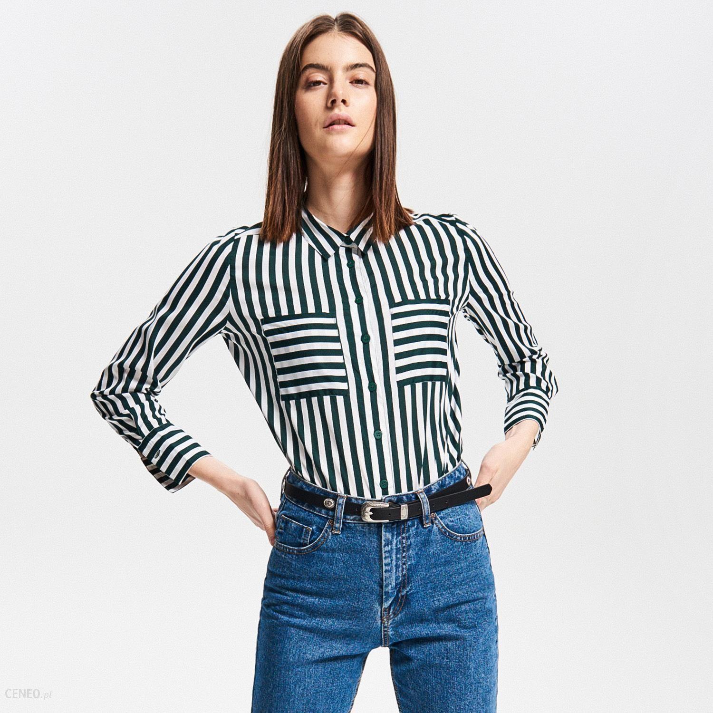 Reserved Koszula w paski Wielobarwn Ceny i opinie  vPEoZ