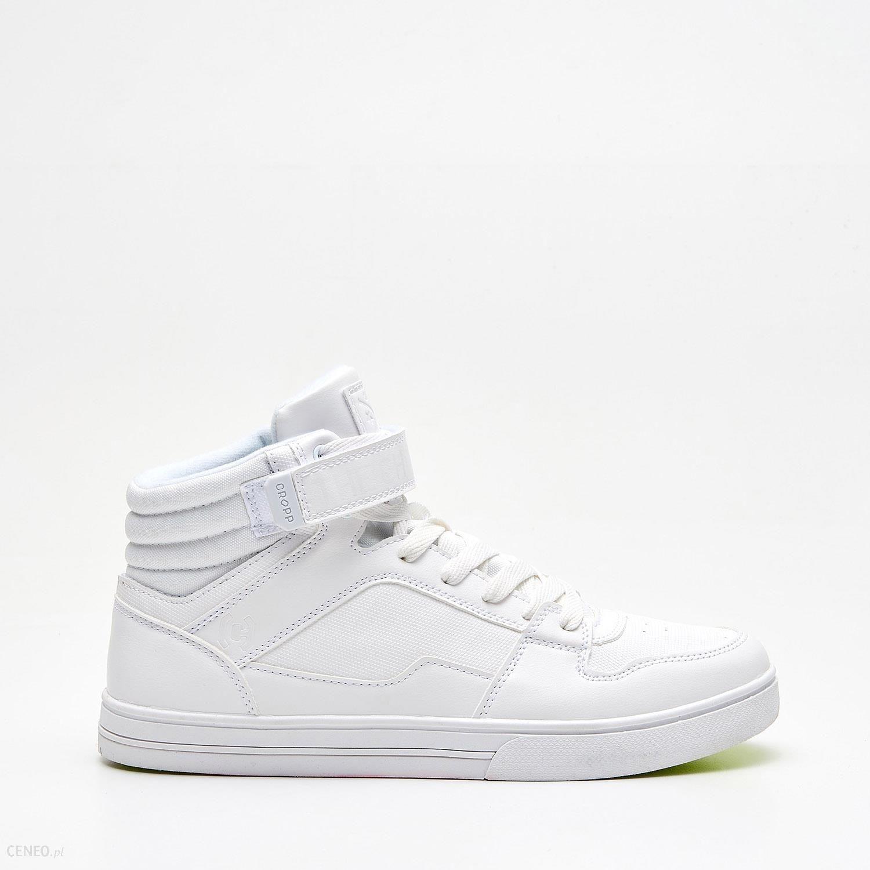 6a91ea371 ... Buty sportowe męskie Cropp - Wysokie sneakersy - Biały. Cropp - Wysokie  sneakersy - Biały - zdjęcie 1