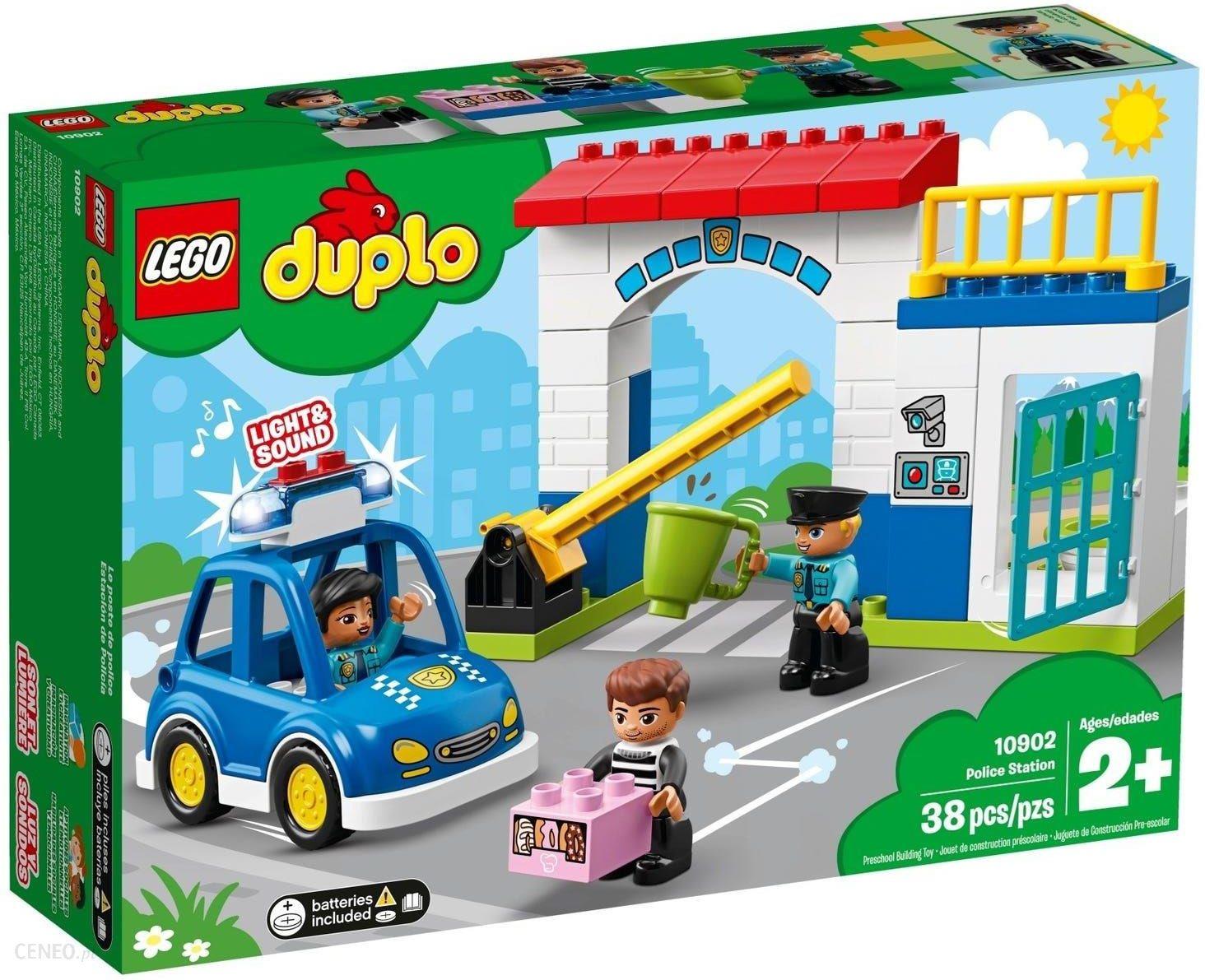 Klocki Lego Duplo Posterunek Policji 10902 Ceny I Opinie Ceneopl