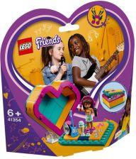 Klocki Lego Friends Pudełko W Kształcie Serca Stephanie 41356 Ceny