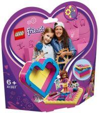 Lego 41357 Friends Pudelko W Ksztalcie Serca Olivii Ceny I Opinie Ceneo Pl