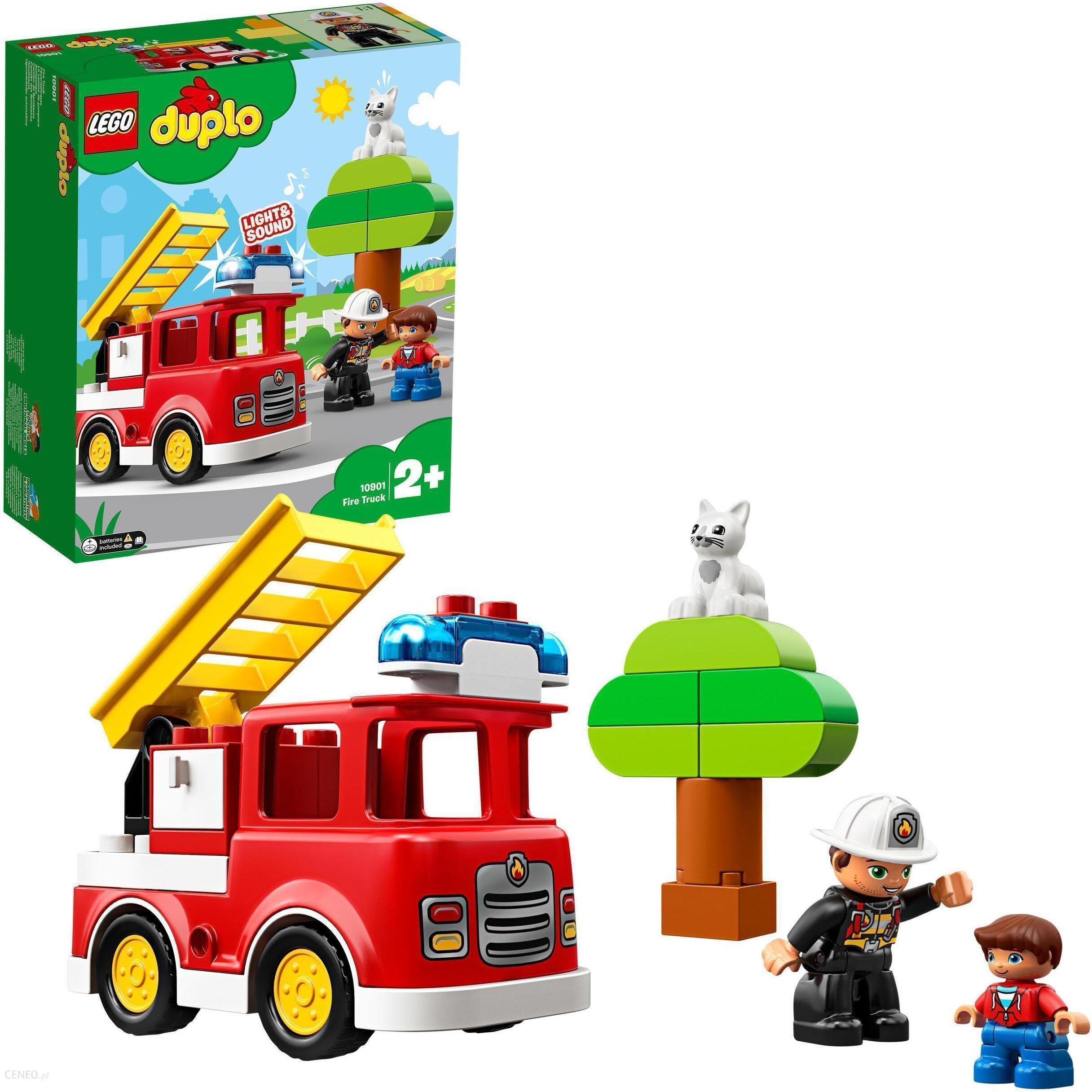 Klocki Lego Duplo Wóz Strażacki 10901 Ceny I Opinie Ceneopl