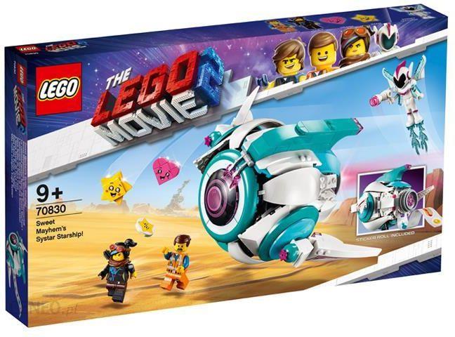 Klocki Lego Movie Gwiezdny Statek Słodkiej Zadymy 70830 Ceny I