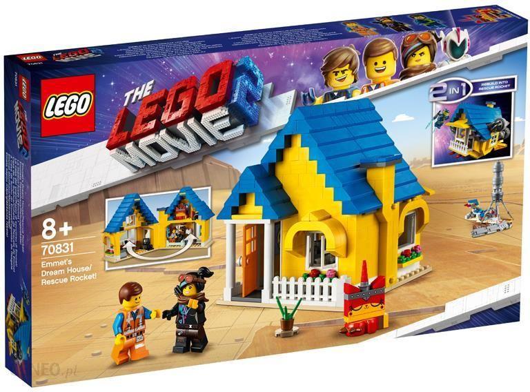 Klocki Lego Movie Dom Emmetarakieta Ratunkowa 70831 Ceny I Opinie