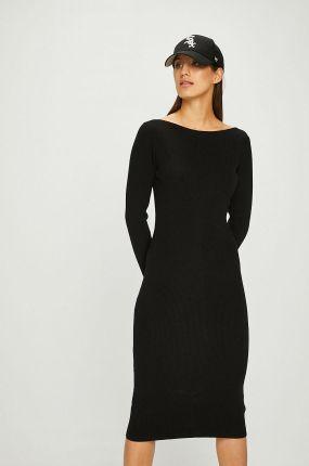3932c53b88 MALE-ME Sukienka bawełniana z kieszeniami Basic Smart Grey Denim ...