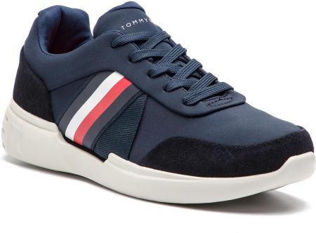 size 40 c0e2e f94a3 Sneakersy TOMMY HILFIGER - Lightweigh Corporate Runner FM0FM01952 Midnight  403 eobuwie