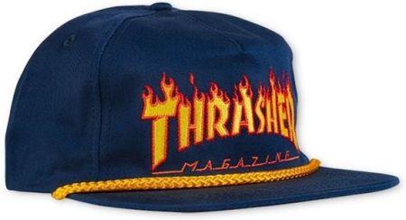 czapka z daszkiem THRASHER - Flame Rope Snapback (FLM) e2ab10e1070