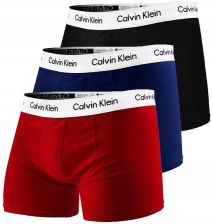 BOKSERKI CALVIN KLEIN 3-PACK LOW RISE TRUNKS XL