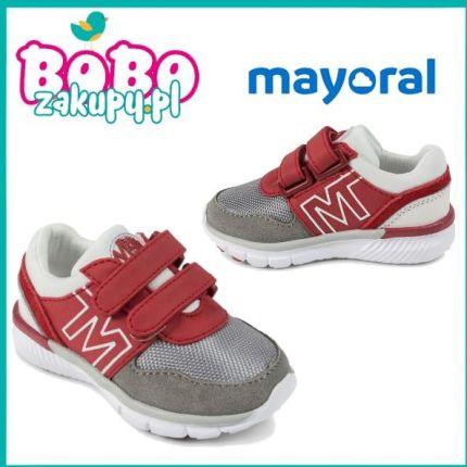 2649c7cc MAYORAL 41896 Buty sportowe dla chłopca Czerwone ...